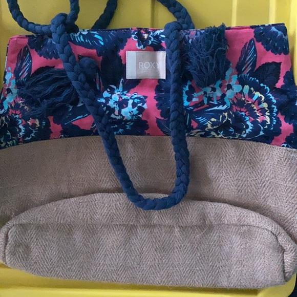 NWOT Roxy beach bag